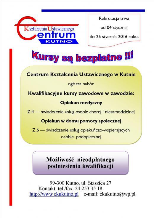 Rekrutacja CKU 2016 część 3